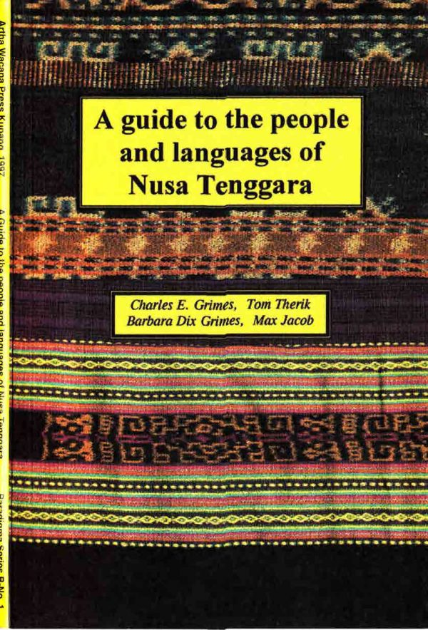 Guide to people and languages of Nusa Tenggara